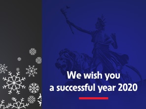 We wish you a successful year 2020